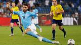 Soccer - Israel beat 10-man Scotland thanks to Tierney own goal