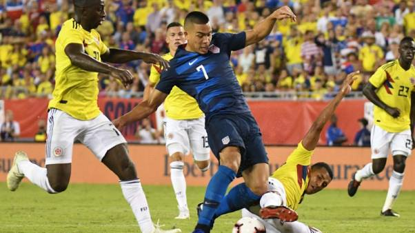 Soccer - Colombia crush U.S. 4-2 in friendly