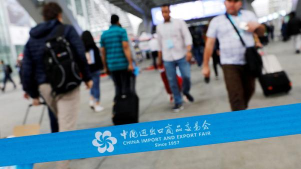 Unwelcome guest: U.S. tariffs loom at China's biggest trade fair