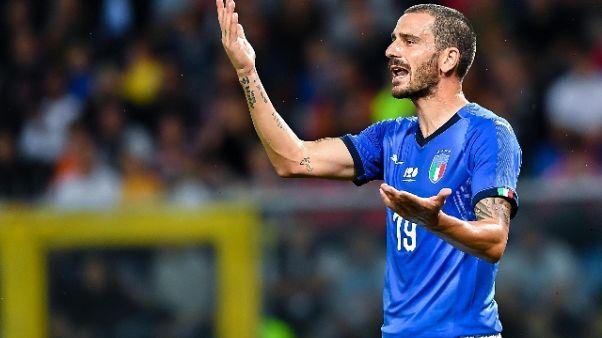 Bonucci,qualità Juve per rilancio Italia
