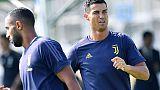Ronaldo si allena con Juve,pollice insù