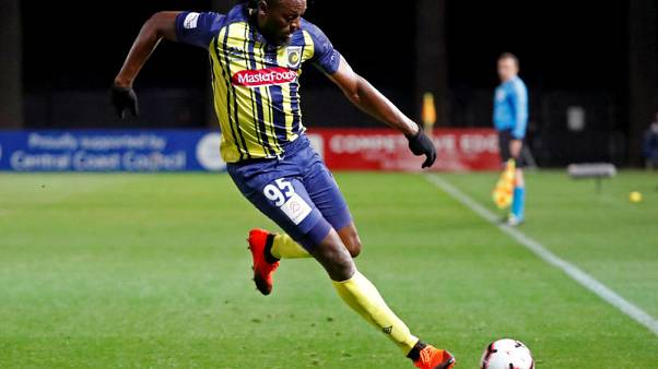 Bolt fires two goals in Mariners trial