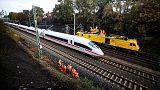 اندلاع حريق بقطار سريع في ألمانيا وإخلاؤه من الركاب