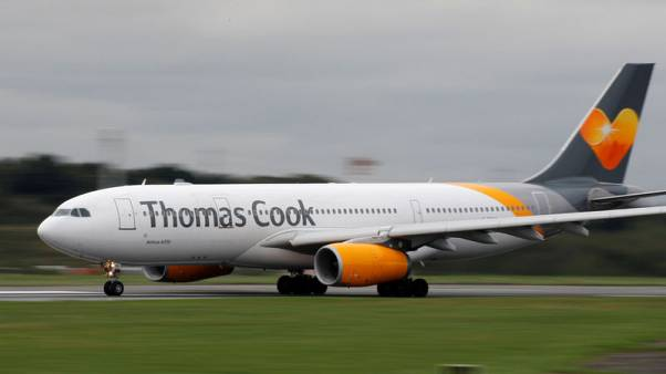 Thomas Cook says air traffic could halt for a week after Brexit
