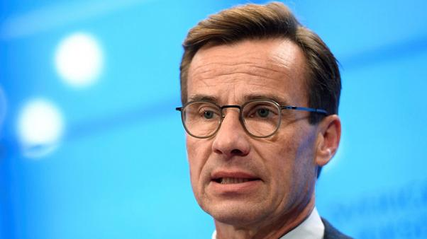 Swedish PM hopeful says could shed partners to form centre-right govt