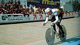 """Ciclismo:Moser-Wiggins""""signori dell'ora"""""""