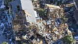 Ouragan Michael: les secours d'urgence font place à l'aide aux sinistrés
