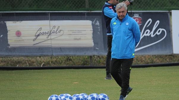Napoli: Ancelotti aspetta rientri