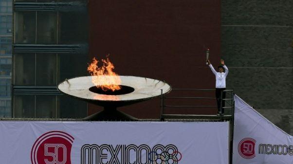 Le Mexique commémore les 50 ans des Jeux olympiques de Mexico