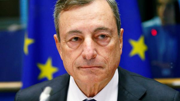 ECB's Draghi warns central banks' independence under threat