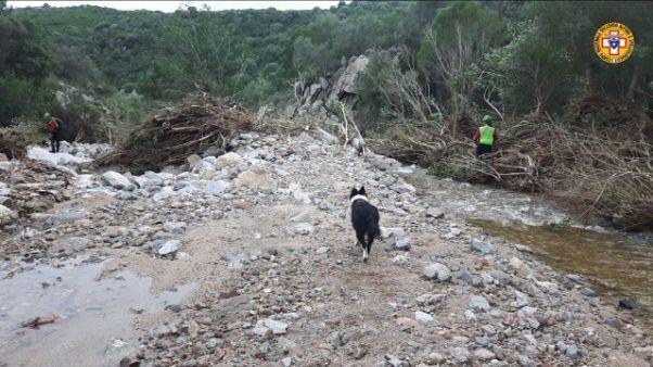 Maltempo: ricerche pastore disperso