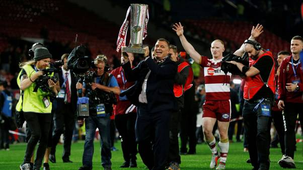 Rugby - Wigan give departing coach Wane the perfect send-off