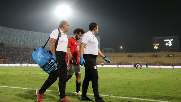 Injury forces Salah out of Egypt qualifier