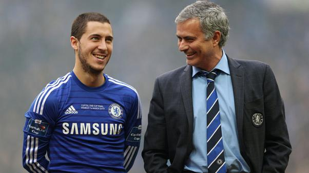 Mourinho is one coach I want to be reunited with - Hazard