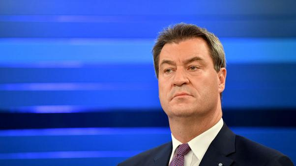 Bavaria election humbles Merkel allies, raising tensions in Berlin