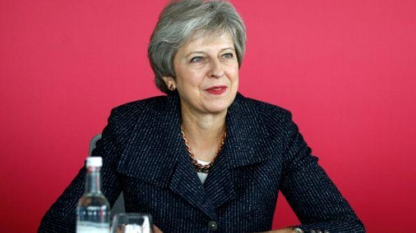 La Première ministre britannique Theresa May à Londres le 11 octobre 2018
