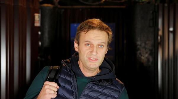 Russian opposition leader Navalny freed from jail