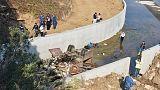 22 قتيلا في تحطم شاحنة تقل مهاجرين بغرب تركيا