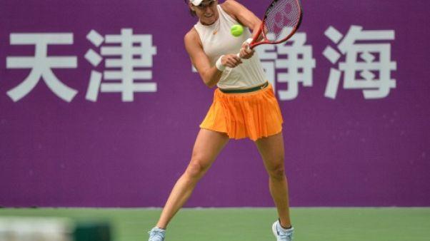 Tennis: Caroline Garcia remporte à Tianjin son premier titre depuis septembre 2017