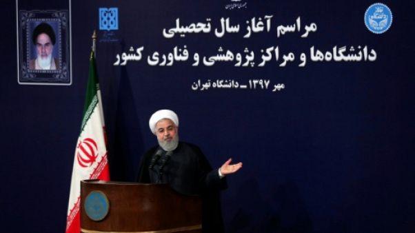 """Retrait américain de l'accord nucléaire: """"une défaite"""" pour Washington, selon Rohani"""
