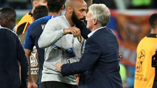 """Monaco: pour Deschamps, Henry est """"prêt"""", il a """"tout"""" pour être un bon entraîneur"""