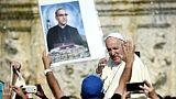 Le martyr salvadorien Oscar Romero et le pape italien Paul VI canonisés