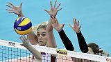 Mondiali volley: Serbia-Giappone 3-0