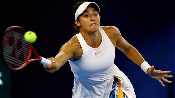 Garcia overcomes Pliskova to claim Tianjin title