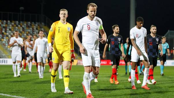 Spain are above England's level, says goal-shy Kane