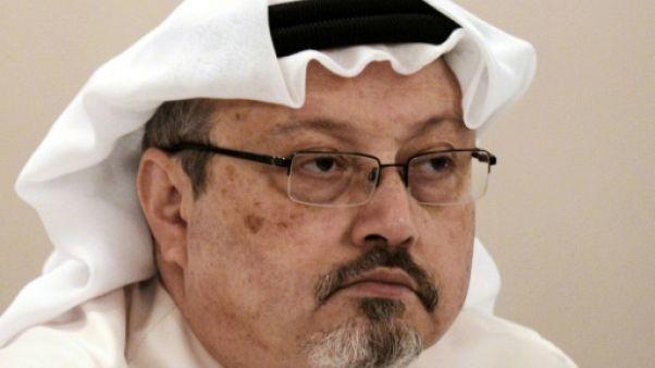 Jamal Khashoggi, le 15 décembre 2014 à Manama