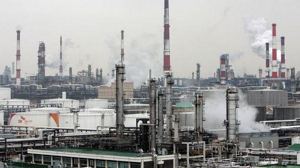 كوريا لم تستورد أي كميات من النفط الإيراني في سبتمبر قبيل عقوبات أمريكية