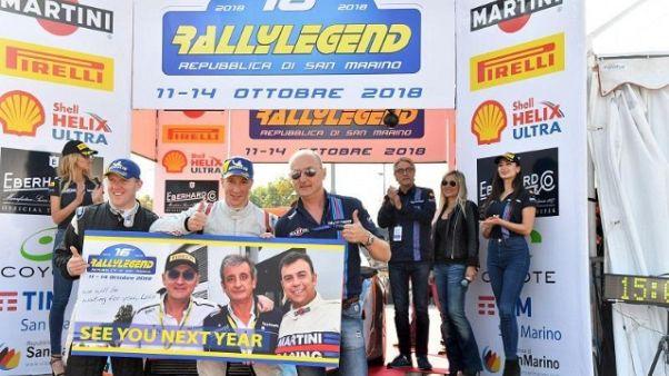 Rallylegend: tra 'historic' vince Rosati
