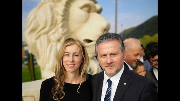 Stefani inaugura maxi-leone San Marco