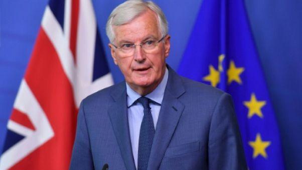 Le négociateur en chef de l'UE, Michel Barnier, le 31 août 2018 à Bruxelles