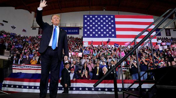 Trump says he is 'comfortable' as president despite political battles