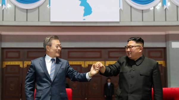 North, South Korea agree to reconnect roads, rail amid U.S. concern over easing sanctions