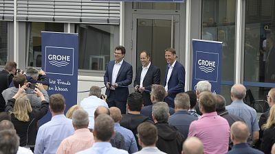 GROHE investit dans l'innovation : inauguration du laboratoire au site Hemer
