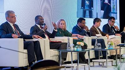 Technology and innovative finance key to reaching end users in the value chain through technology: African Development Bank at Global Infrastructure Forum 2018