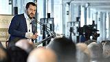 Salvini, oggi dl fiscale, domani manovra