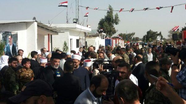 Damas rouvre deux passages avec la Jordanie et la zone du Golan sous contrôle israélien