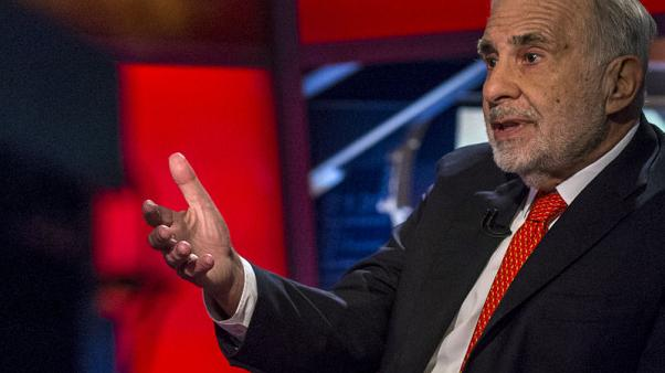 Carl Icahn reports 8.3 percent stake in Dell tracking stock