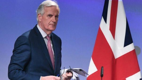 Le négociateur en chef de l'UE, Michel Barnier, le 19 mars 2018 à Bruxelles