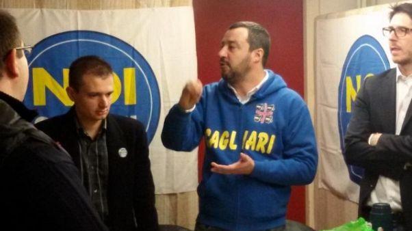 Salvini in Sardegna a inizio novembre