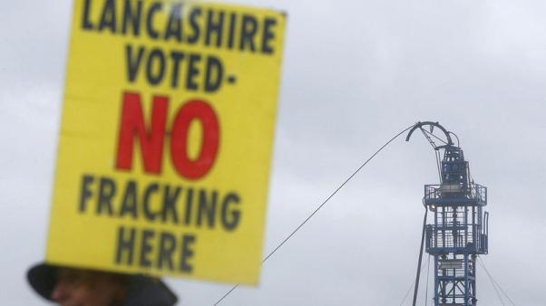 Britain's Cuadrilla starts fracking for gas after seven-year pause