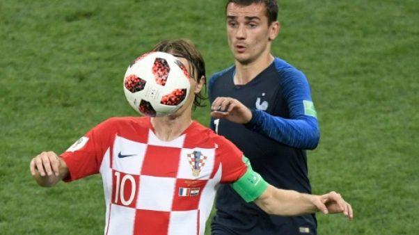 Ballon d'Or: Modric met en avant Griezmann