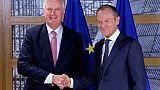 """Brexit: un divorce sans accord """"plus probable que jamais"""", selon Donald Tusk"""
