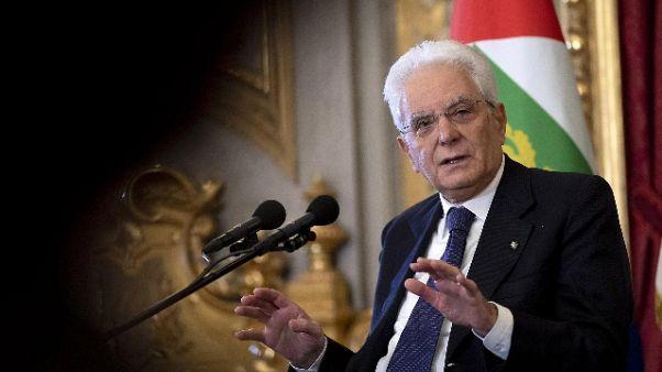 Figc:Mattarella, spero Mondiale nel 2022
