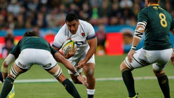 Rugby: fracture du bras pour l'international anglais Billy Vunipola