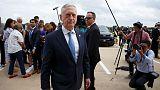 Trump tells Mattis he is 100 percent behind him after 'Democrat' jab