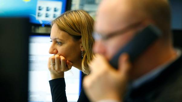 European shares bounce from 22-month low as earnings flow in; Volvo hit